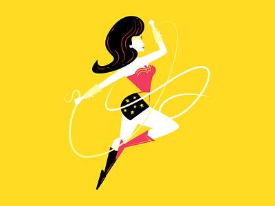 Wonder Woman vector illustrator wacom wonderwoman dc