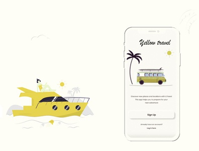 Travel Guide Mobile Application UI / UX