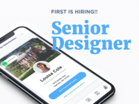 First is hiring!