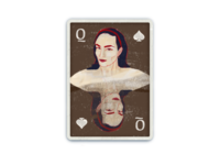 Queen of Spades - Dribbble warmup 11