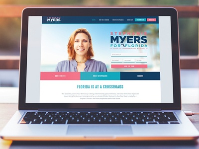 Myers for Florida — campaign website