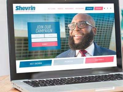 Branding and website for Shevrin Jones for Florida House