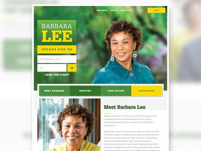 Barbara Lee for Congress