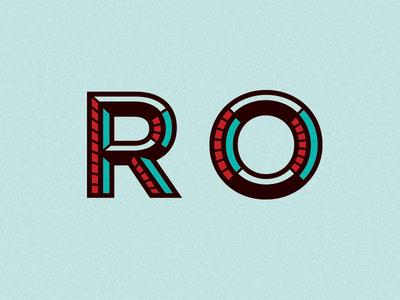 Logo Type R O