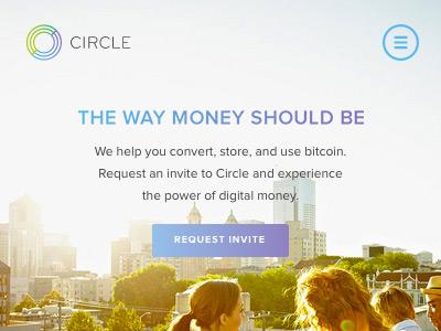 Circle - Home bitcoin website