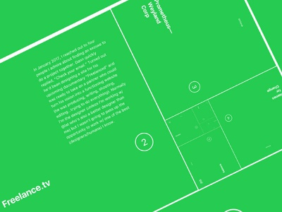 Narrowdesign Portfolio Update golden spiral fibonacci grid website