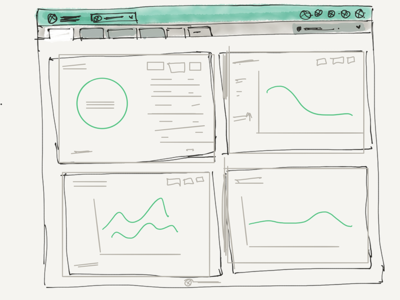 Botmetric Dashboard Sketch Prototype