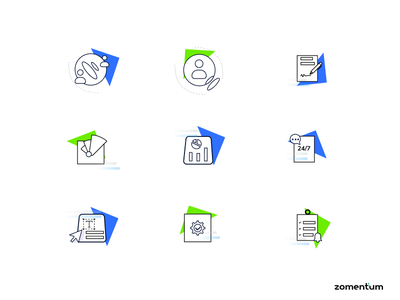 Ultimate icon design for MSP CRM msp crm icon icon set icon design iconography icons crm msp