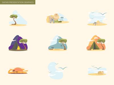 Safari Illustrations
