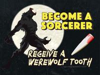 Free Werewolf Tooth