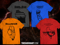 Horror Shirts for US States
