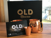 Old Moscow Mule Package Design