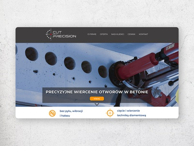 Cut Precision - website