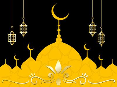 islamic style ramadan kareem eid decorative eid al fitr crescent holy realistic mubarak traditional religion mosque festival eid