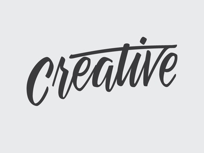Creative Part 2 letters creative wip brush lettering calligraphy typography type lettering