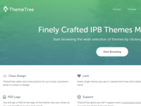 The Re-Updated Index Homepage for ThemeTree 2