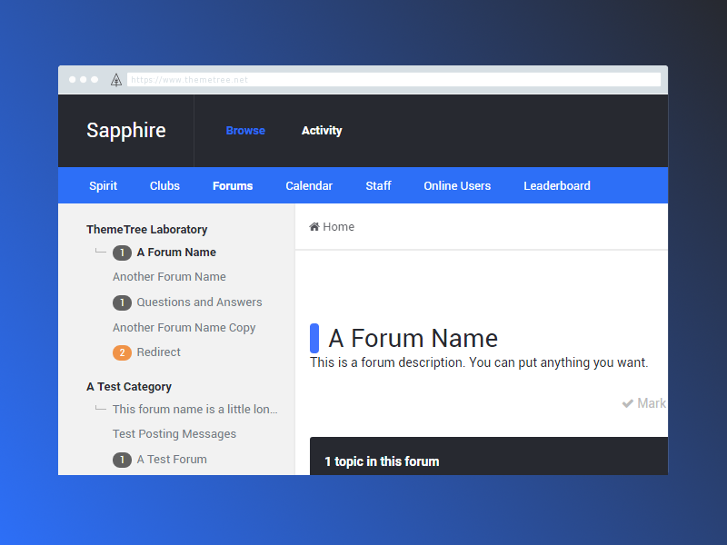 Sapphire Preview [WIP] by Brian Anderson on Dribbble