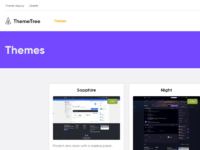 Themetree 4 themes page preview