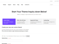 Theme Inquiry Page - ThemeTree 4