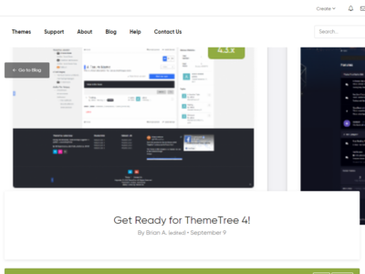 Blog Index + Article [WIP] - ThemeTree 4