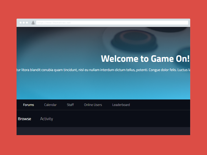 "Get Your ""Game On"" Preview [WIP] ip board themetree wip preview game game on"