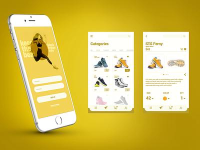 Shopping App ux  ui fashion mobile app mobile app design ux shopping shopping app mobile ui product design ui ui design design interfacedesign application app