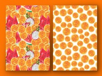 Fruity Seamless Pattern