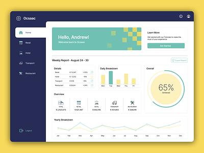 Dashboard Web App navigation statistics web app webdesign design ux ui dashboard