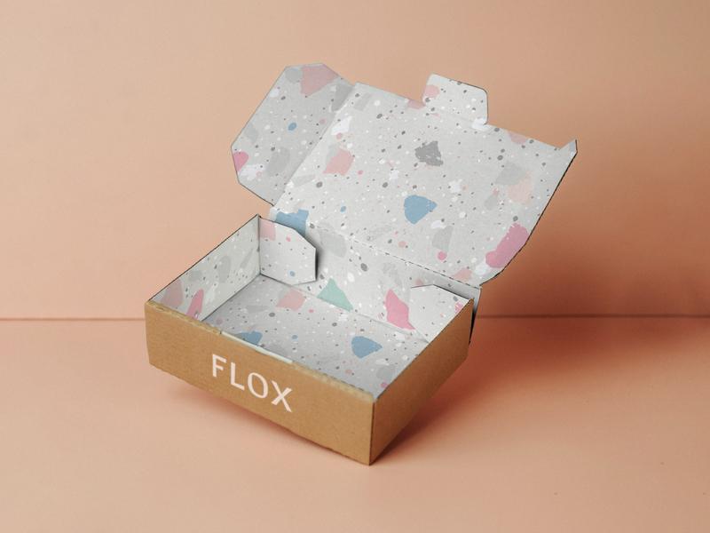 FLOX BOTANICAL custom type packaging custom lettering wordmark typography creative wiltshire logo logo design branding