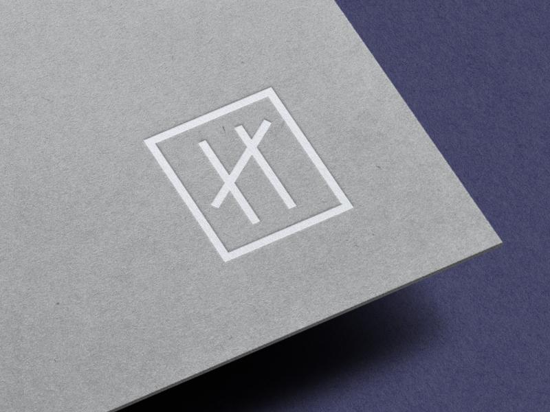 Pretty Little Branding custom lettering business card creative wiltshire lettermark letterpress monogram restaurant stamp icon logo logo design branding