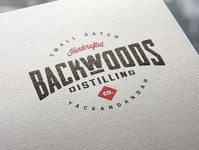 Backwoods Distilling Co Branding