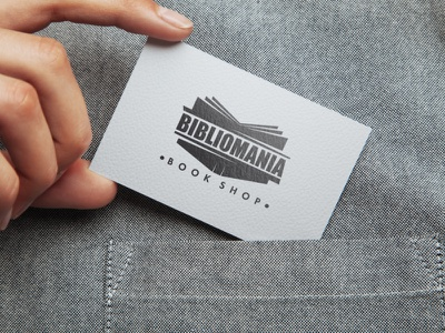 Book Shop Branding typography wordmark letterpress monogram business card creative wiltshire logo design logo branding
