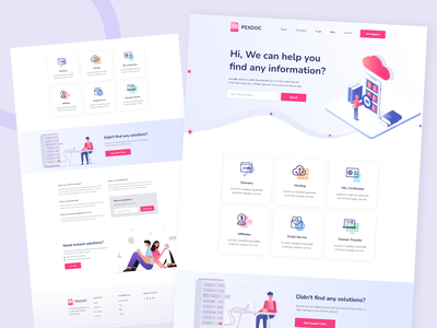 Pexdoc- Knowledgebase Customer Support & Helpdesk Ticketing CMS cms helpdesk faq knowledge support ticket module knowledgebase module user dashboard ticketing system uiux branding minimal ui design landing page design website design clean auomation security search knowledge base ui