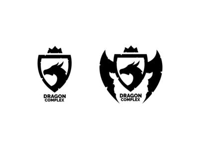 Dragon Complex Logo | Sketches