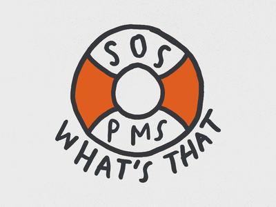 S.O.S. pantone iconography design