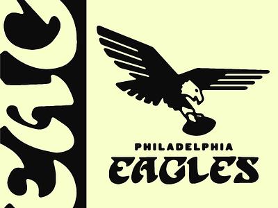 Going back philadelphia eagles eagles birds logo retro philadelphia
