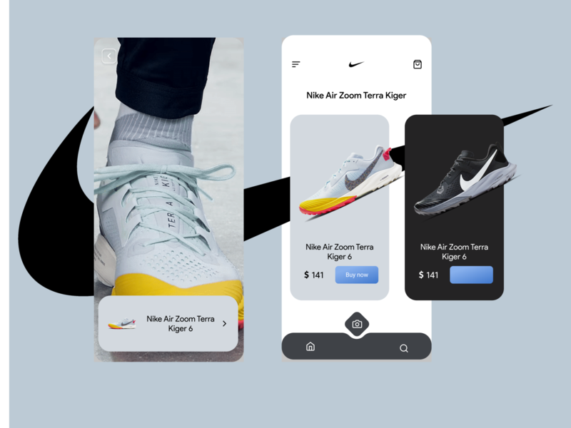 Nike augmented reality concept