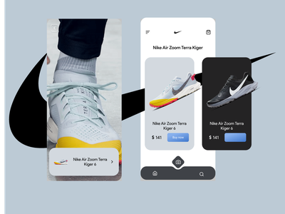 Nike augmented reality concept uidesigners uidesignpatterns uiinspirations uidesigner ux uidesigns ui uidesign minimal web app design
