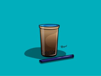 Boba illustration
