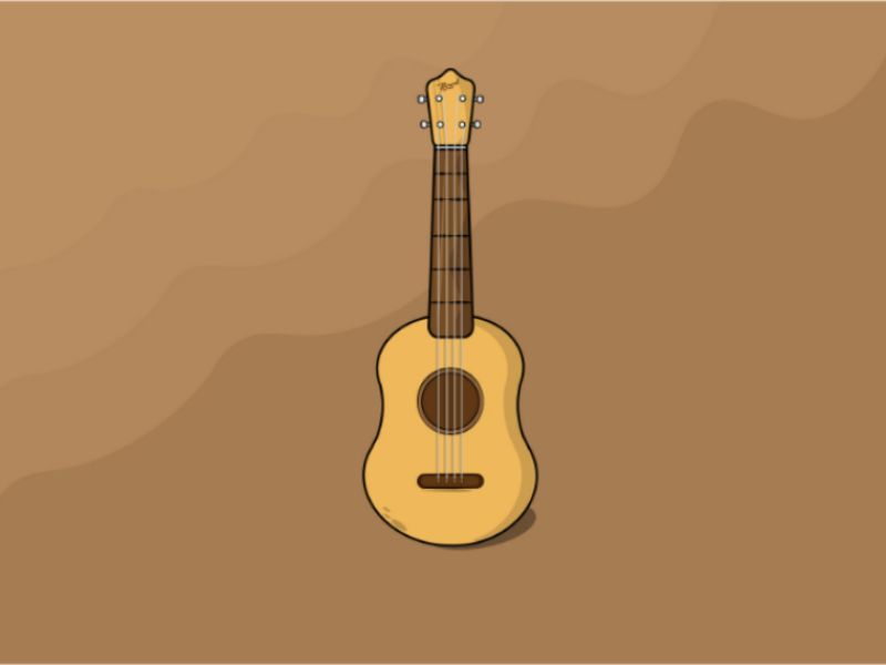 Ukulele ukulele music illustration