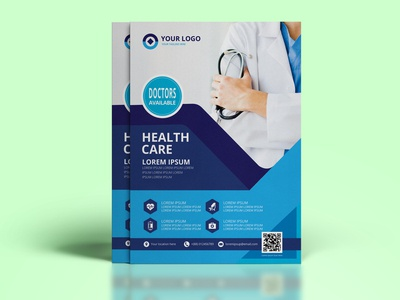 A4 Medical Flyer Design