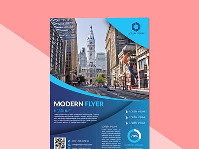Modern Business Flyer Design a4 flyer medical business card creative logo illustration branding and identity brandidentity creative design adobe illustrator