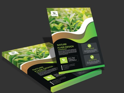 Natural A4 Flyer Design