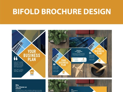 Bifold Brochure Design standard creative resume flyer corporate design brochure mockup brochure design brochure trifold bifold corporate corporate business card restaurant business card logo business card illustration brandidentity branding and identity creative design adobe illustrator