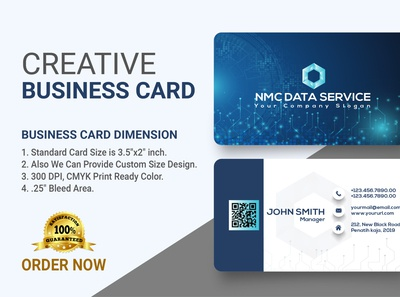 I will make creative business card for you