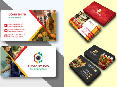 I will make creative business card for you minimalist simple photography real estate restaurant modern logo stationary design brand identity corporate identity modern business card creative business card corporate business card