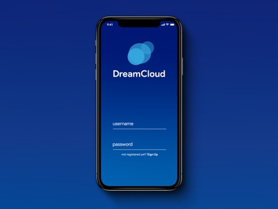 DreamCloud-Login