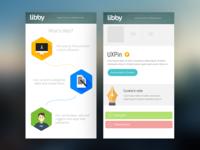 Responsive design for webapp