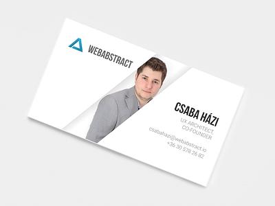 New business card design dtp clean businesscard