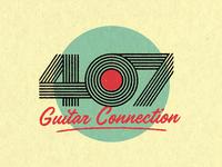 407 Guitar Logo